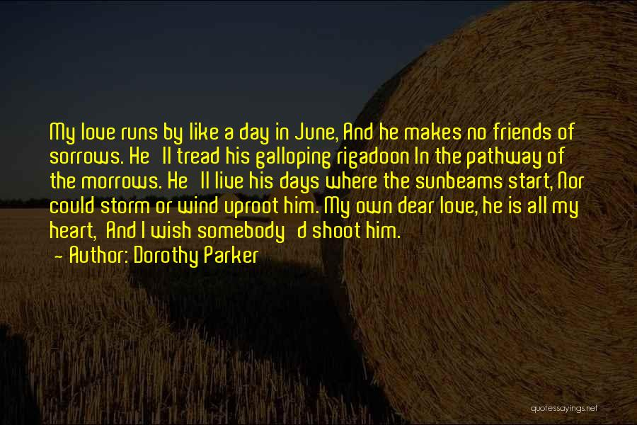 Wind And Friends Quotes By Dorothy Parker
