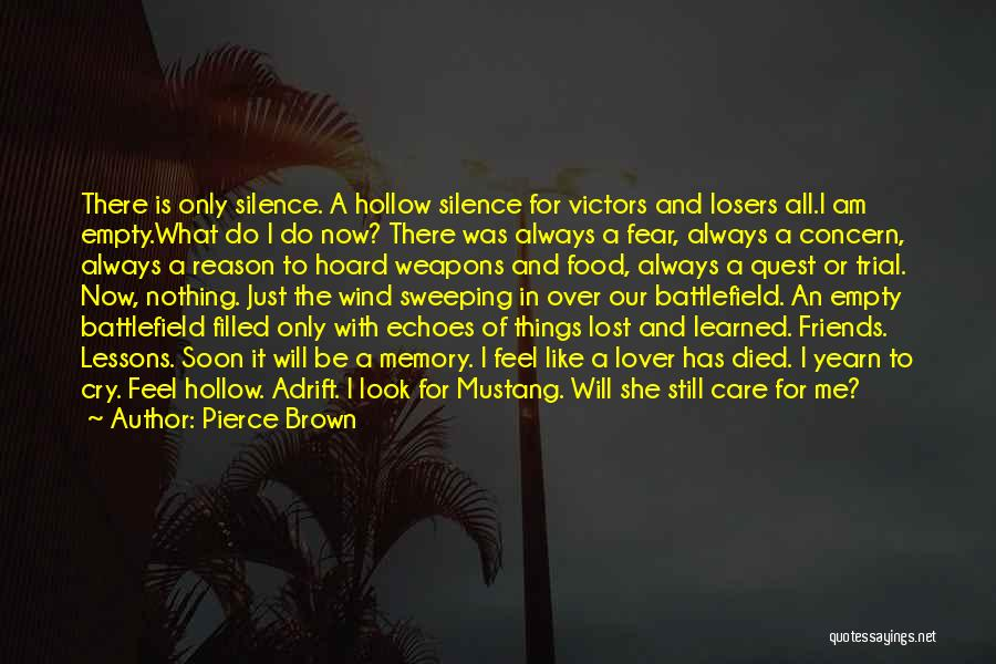 Wind And Friends Quotes By Pierce Brown