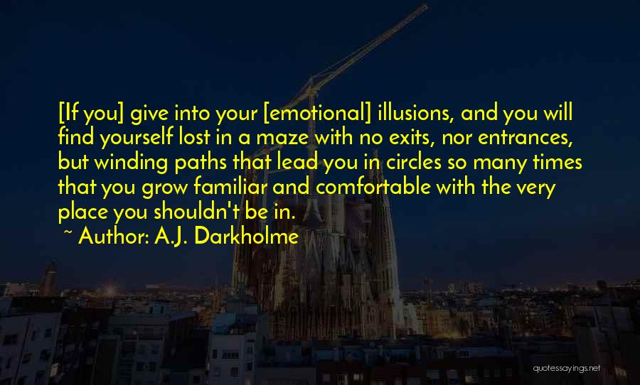 Winding Paths Quotes By A.J. Darkholme