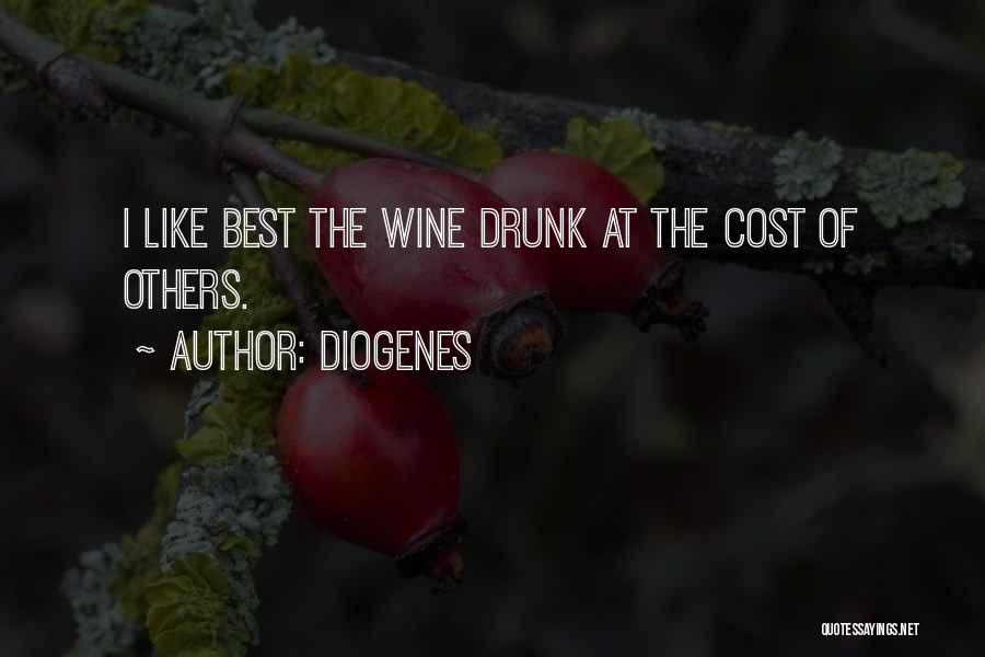 Wine Drunk Quotes By Diogenes