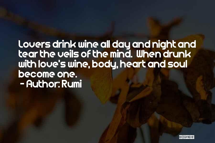 Wine Drunk Quotes By Rumi