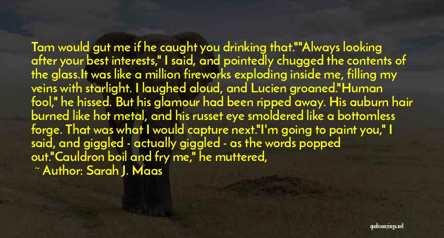 Wine Drunk Quotes By Sarah J. Maas