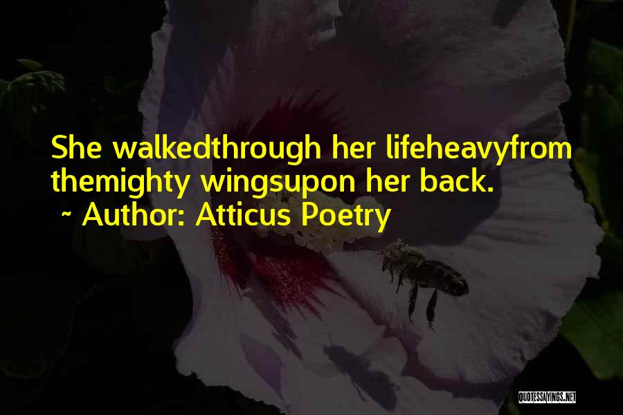 Wings Poems And Quotes By Atticus Poetry