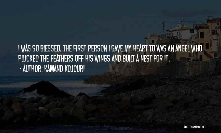 Wings Poems And Quotes By Kamand Kojouri