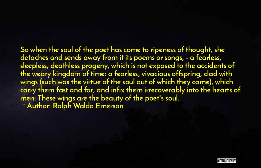 Wings Poems And Quotes By Ralph Waldo Emerson