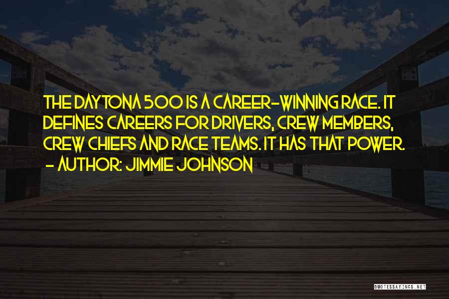 Winning Teams Quotes By Jimmie Johnson