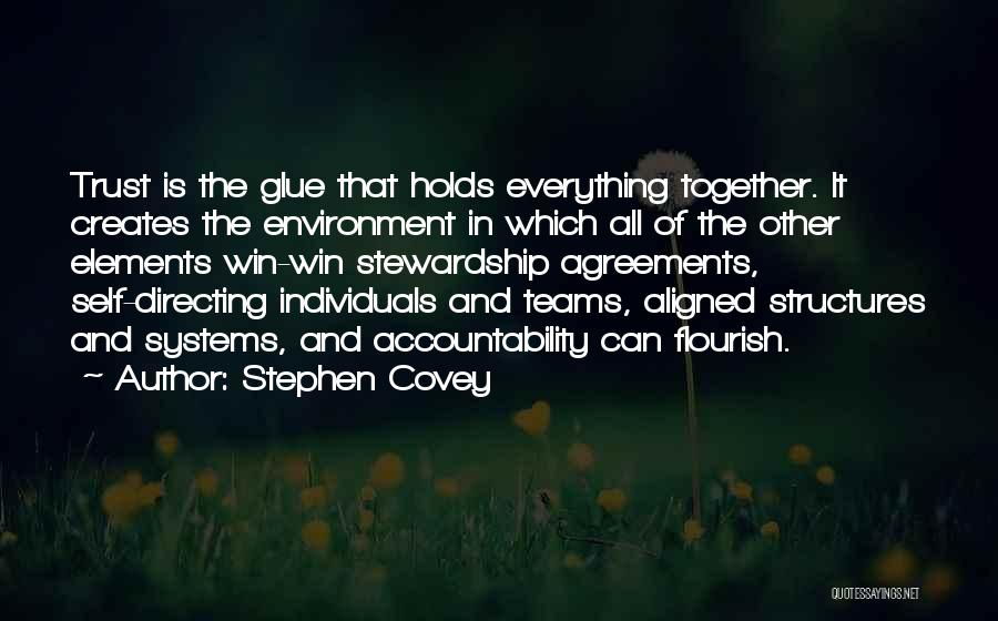 Winning Teams Quotes By Stephen Covey