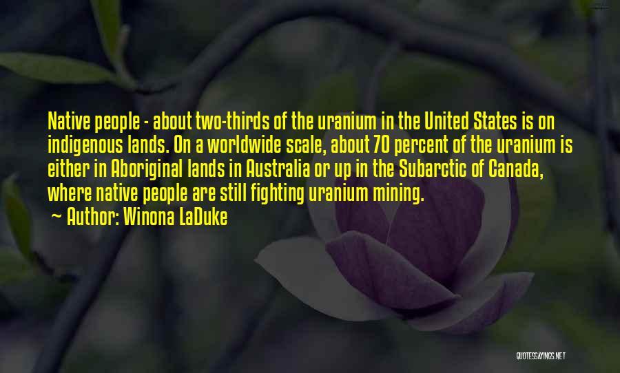 Winona LaDuke Quotes 154751