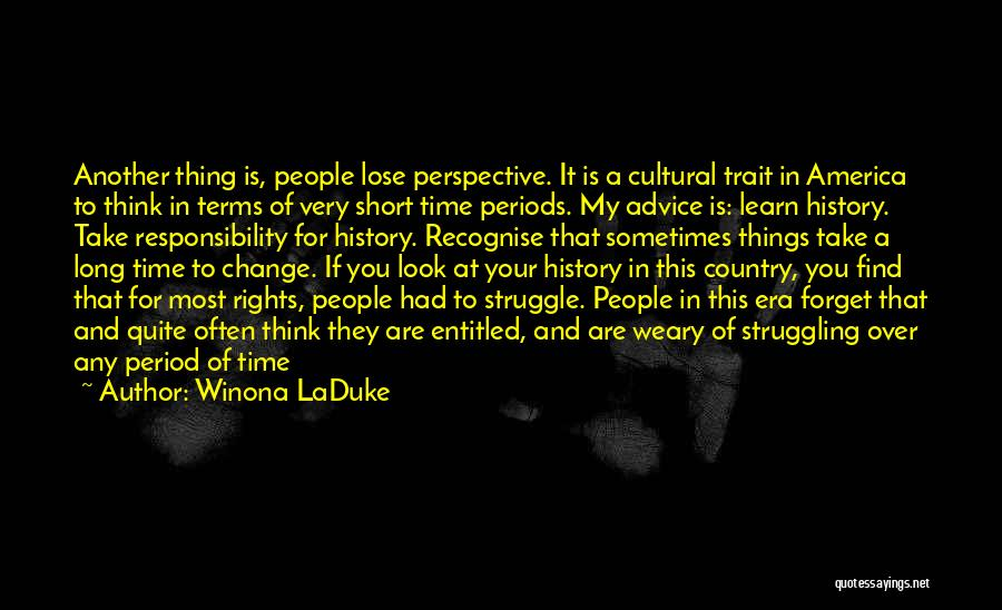 Winona LaDuke Quotes 190685