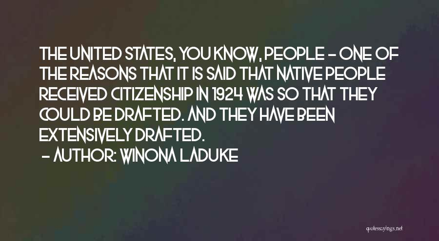 Winona LaDuke Quotes 2049066