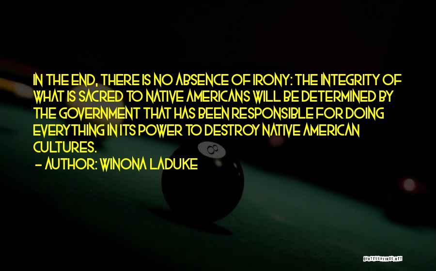 Winona LaDuke Quotes 259001
