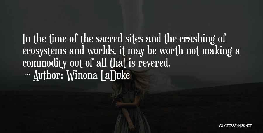 Winona LaDuke Quotes 368406