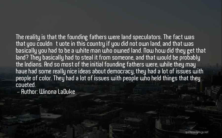 Winona LaDuke Quotes 526192