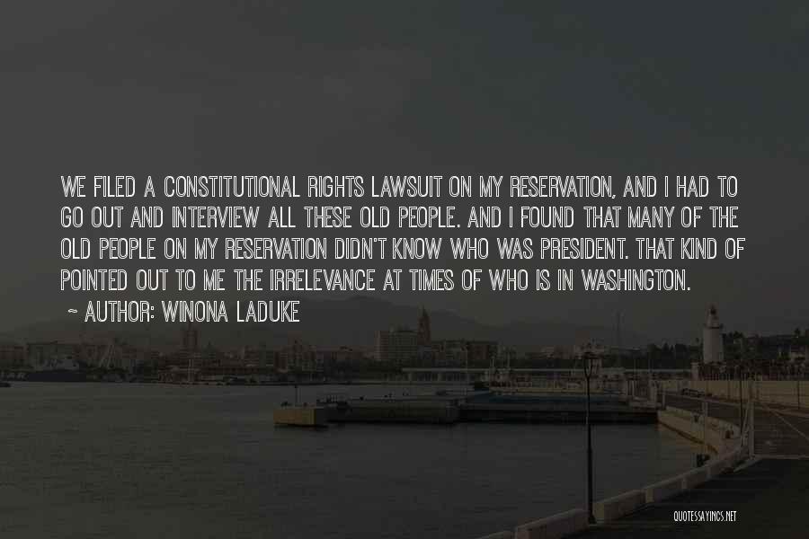 Winona LaDuke Quotes 978374