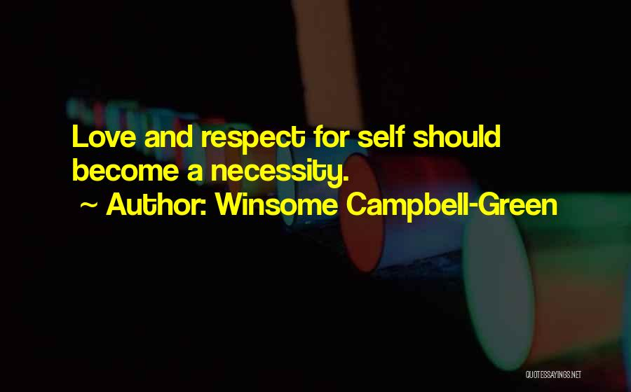 Winsome Campbell-Green Quotes 1846467