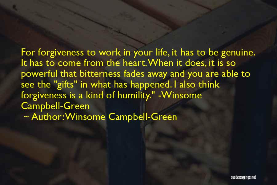Winsome Campbell-Green Quotes 2003177