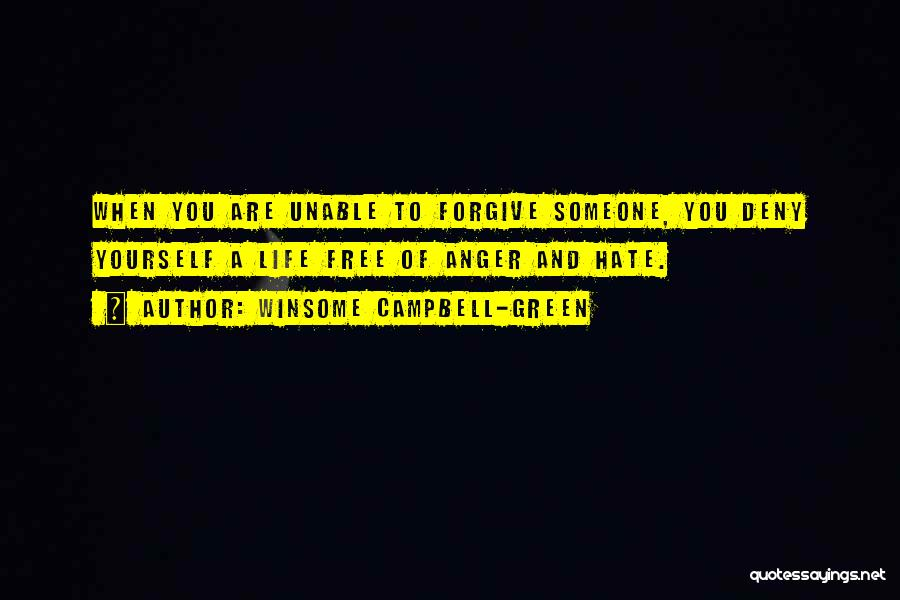Winsome Campbell-Green Quotes 927731