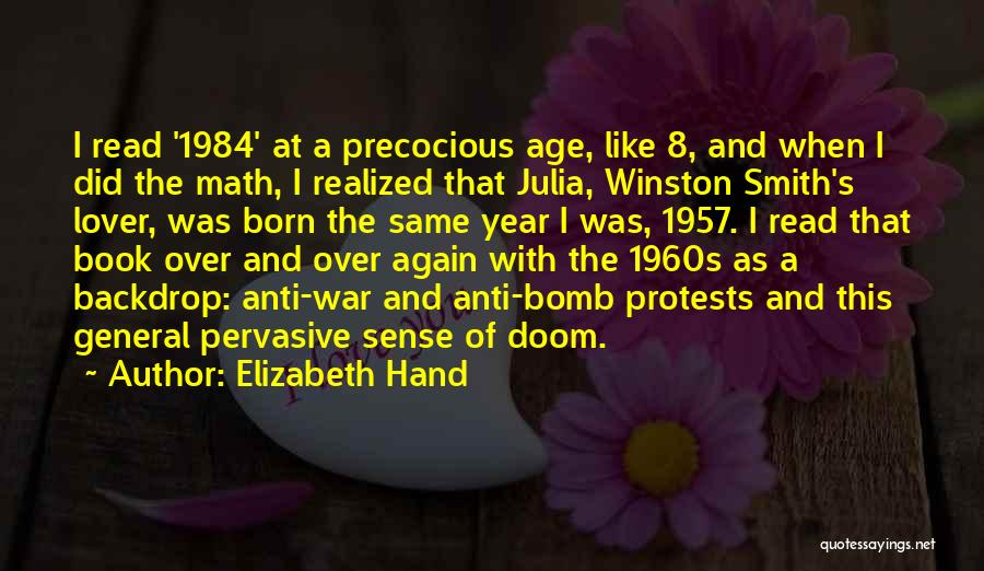 Winston 1984 Quotes By Elizabeth Hand