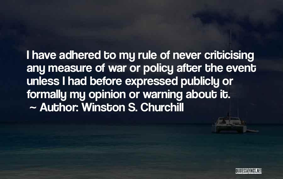 Winston S. Churchill Quotes 1207855