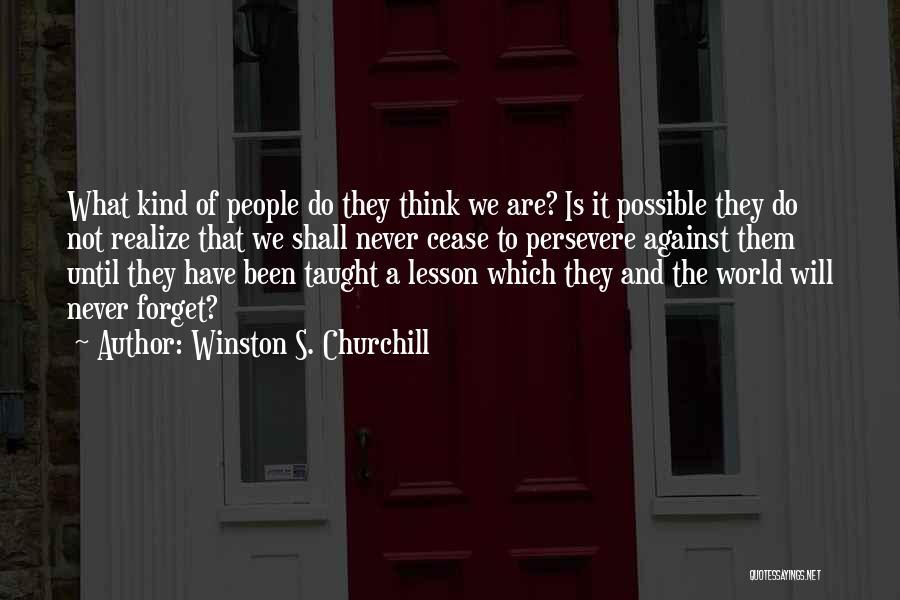 Winston S. Churchill Quotes 1282405