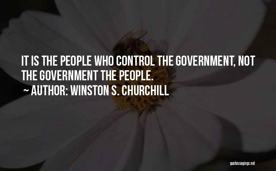 Winston S. Churchill Quotes 1575239