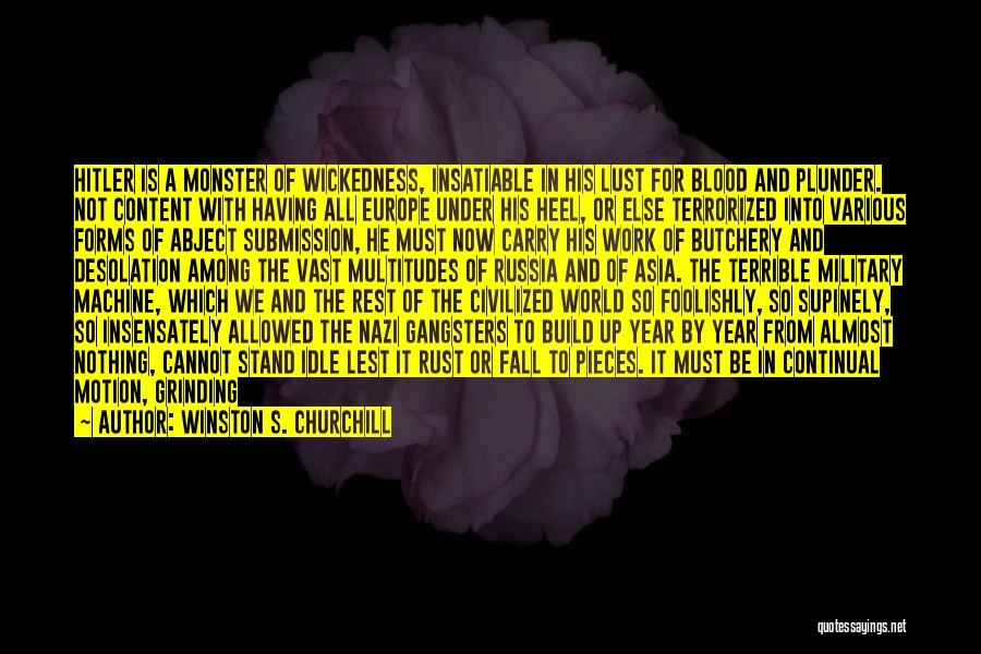 Winston S. Churchill Quotes 292156