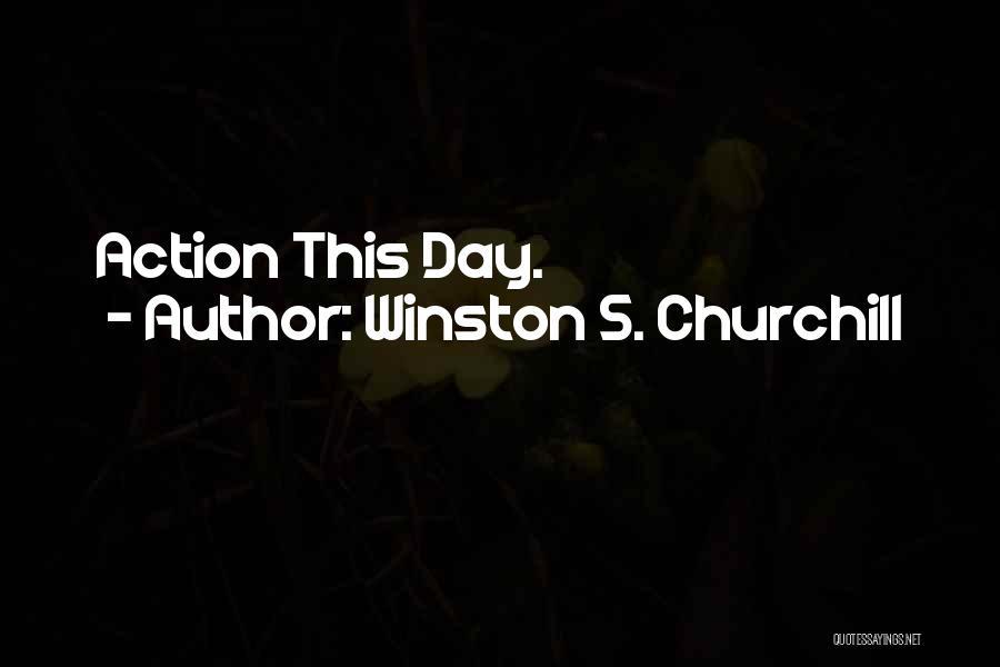 Winston S. Churchill Quotes 399701