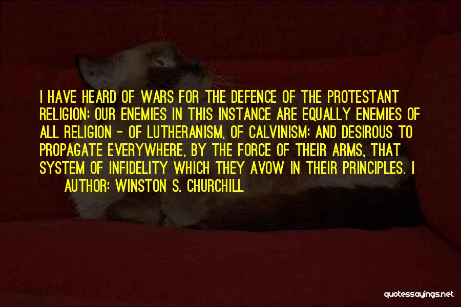 Winston S. Churchill Quotes 709760