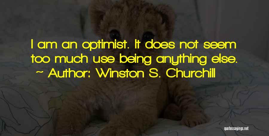 Winston S. Churchill Quotes 782386