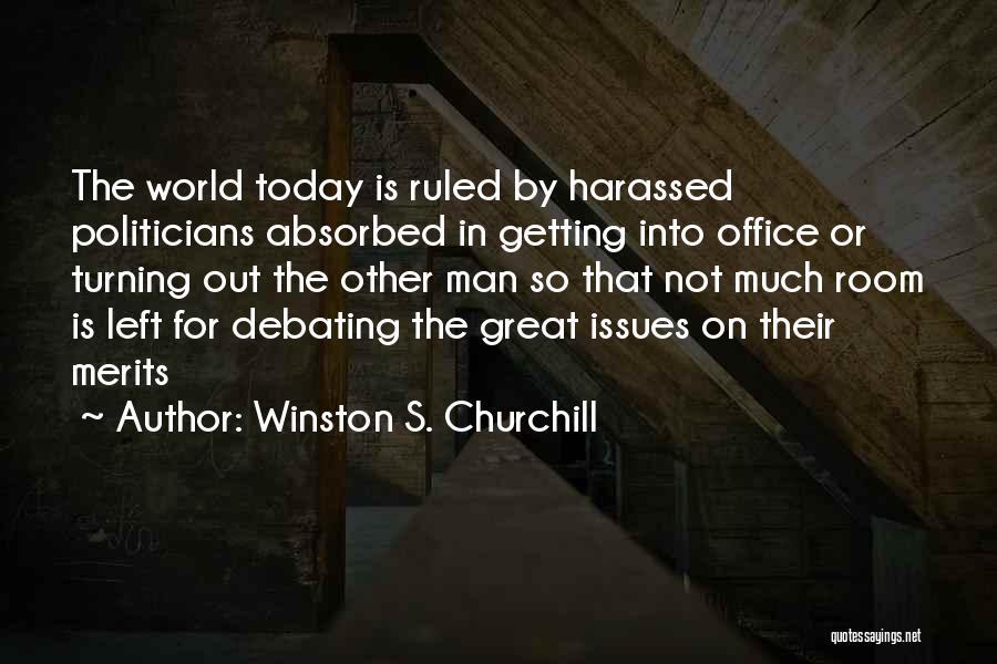 Winston S. Churchill Quotes 883519