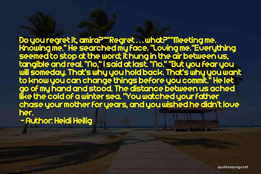 Winter And Change Quotes By Heidi Heilig