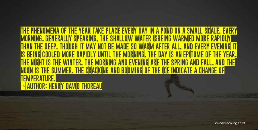 Winter And Change Quotes By Henry David Thoreau