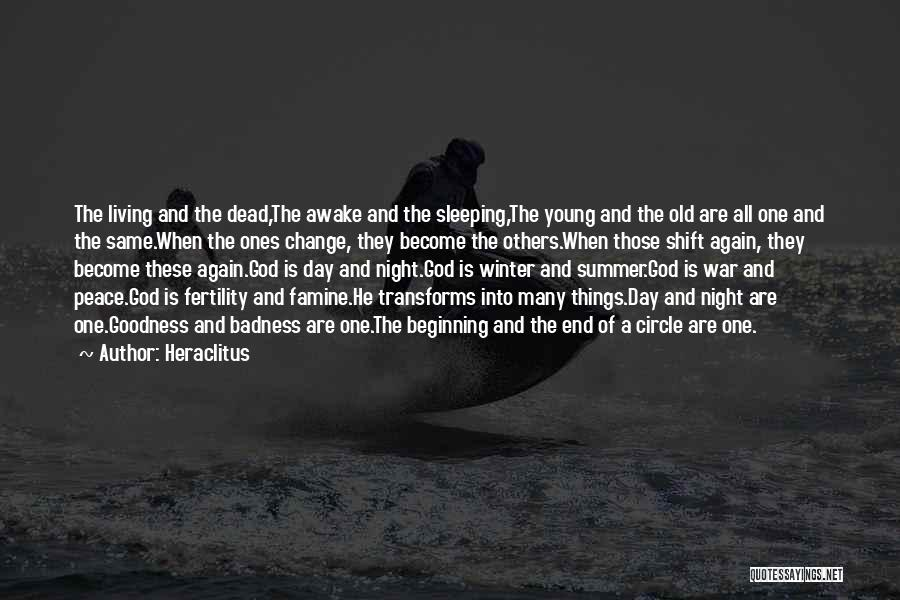 Winter And Change Quotes By Heraclitus