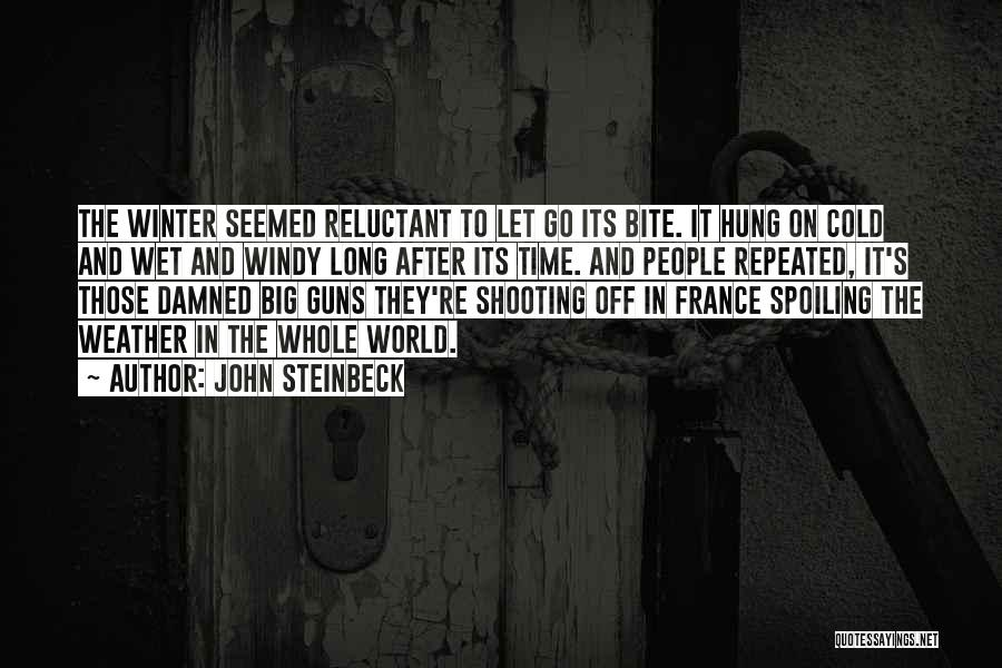 Winter And Change Quotes By John Steinbeck