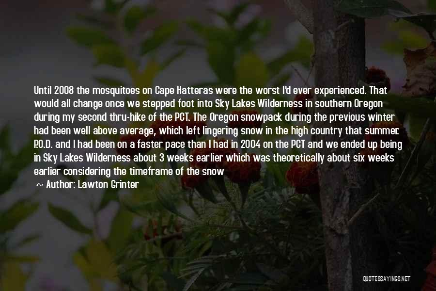 Winter And Change Quotes By Lawton Grinter