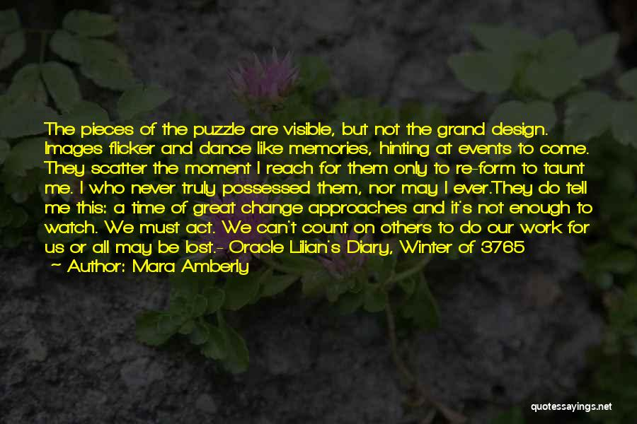 Winter And Change Quotes By Mara Amberly