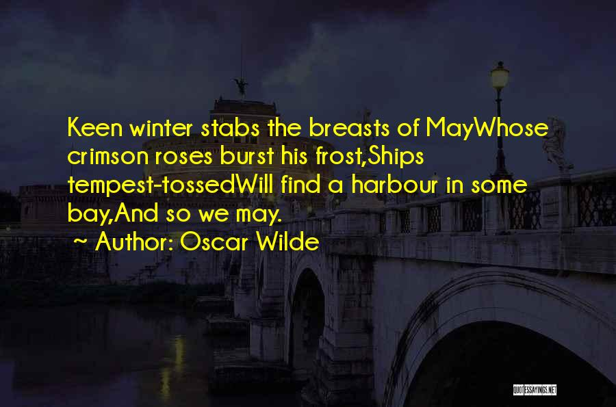 Winter And Change Quotes By Oscar Wilde