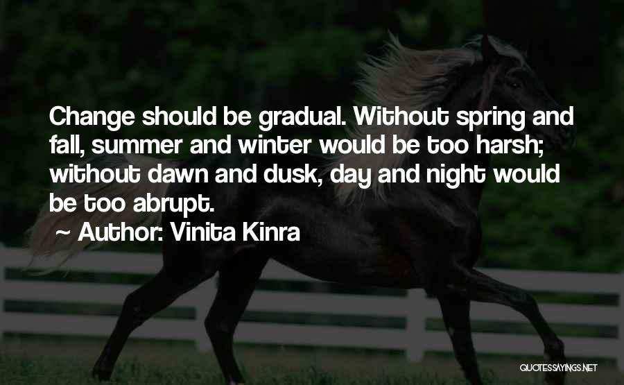 Winter And Change Quotes By Vinita Kinra
