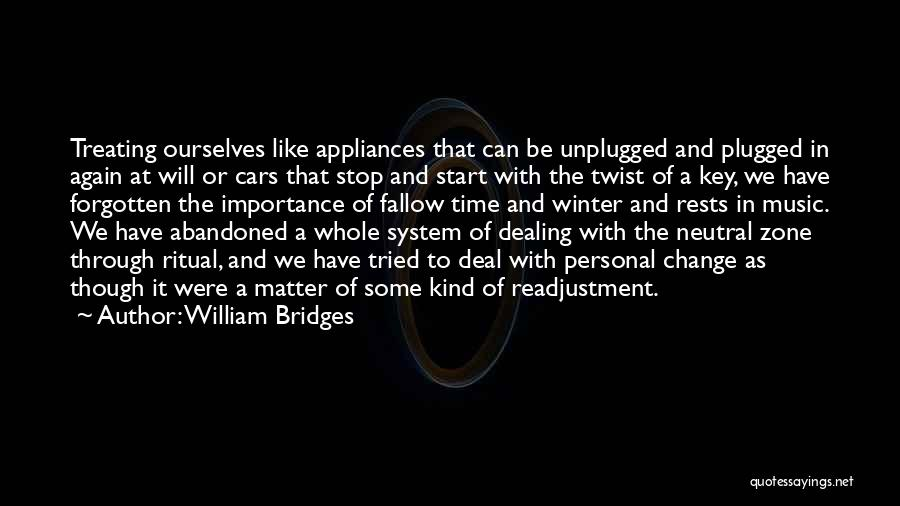 Winter And Change Quotes By William Bridges