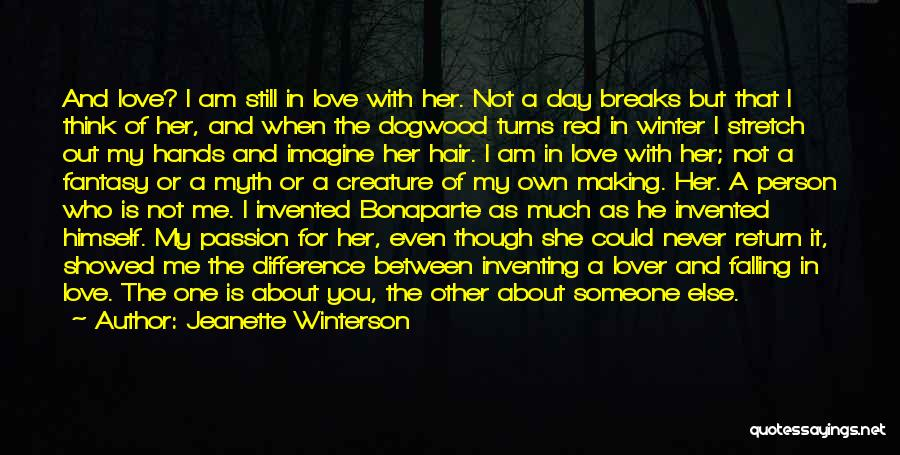 Winter Breaks Quotes By Jeanette Winterson