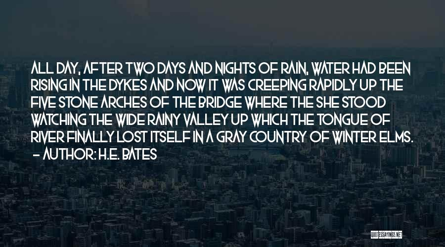 Winter Rainy Day Quotes By H.E. Bates