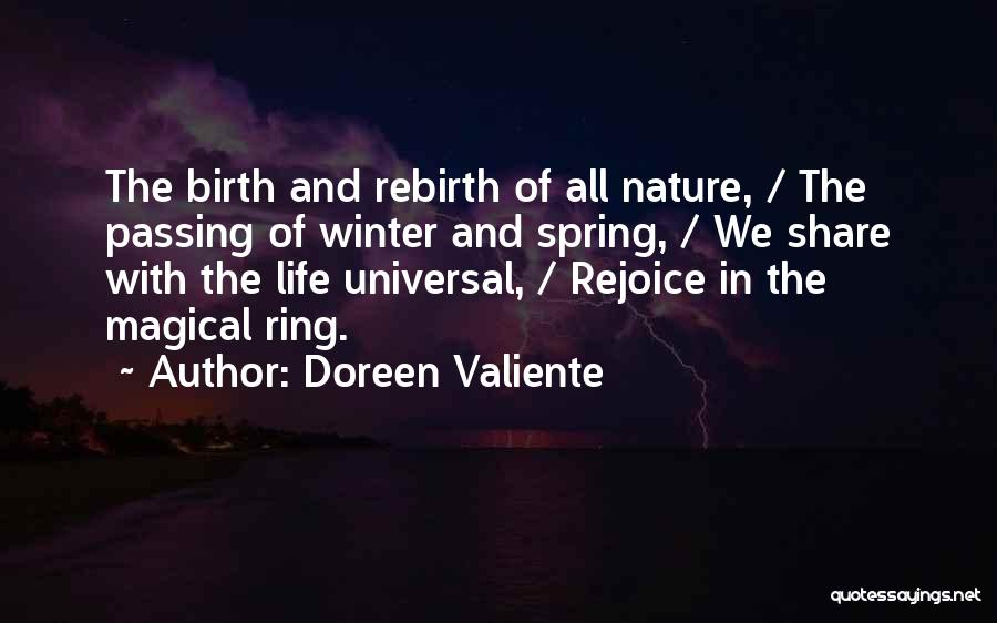 Winter Vs Spring Quotes By Doreen Valiente