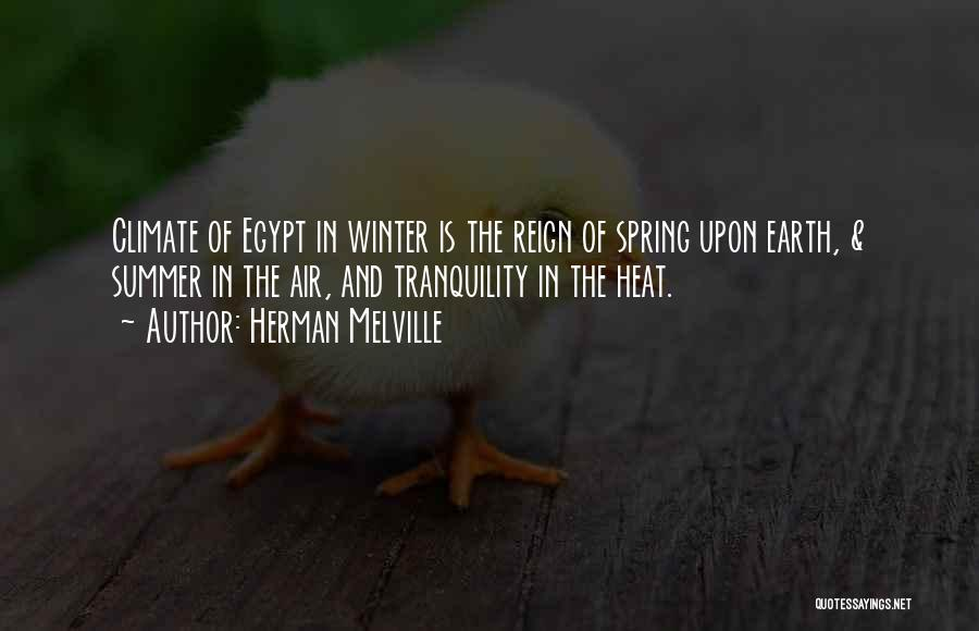 Winter Vs Spring Quotes By Herman Melville