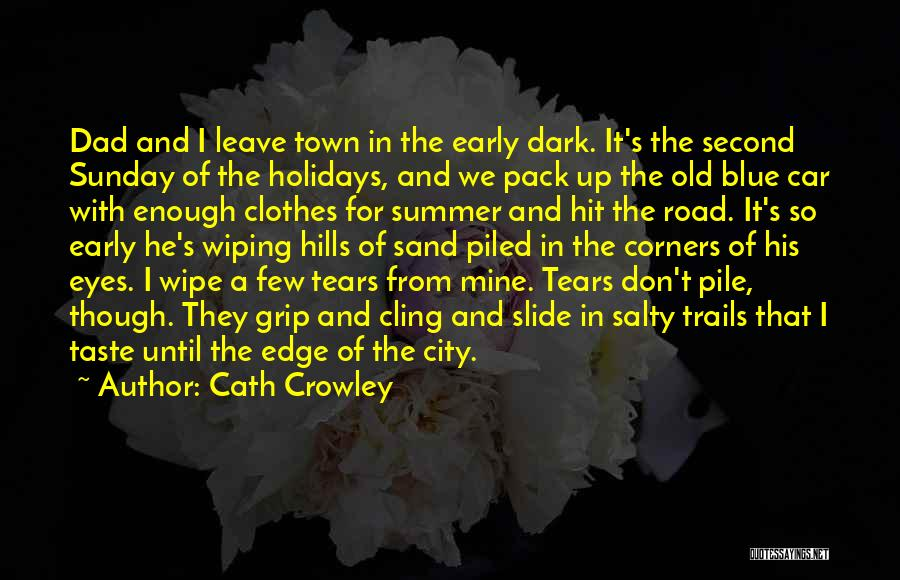 Wiping Tears Quotes By Cath Crowley