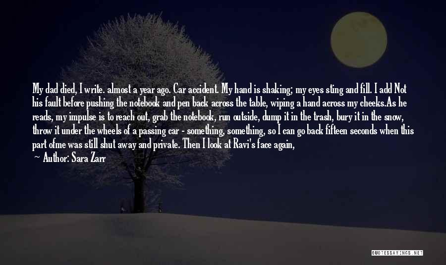Wiping Tears Quotes By Sara Zarr