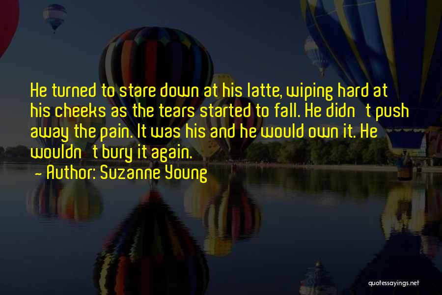 Wiping Tears Quotes By Suzanne Young