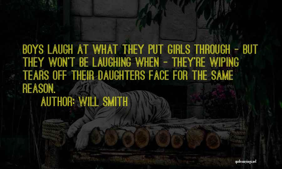 Wiping Tears Quotes By Will Smith