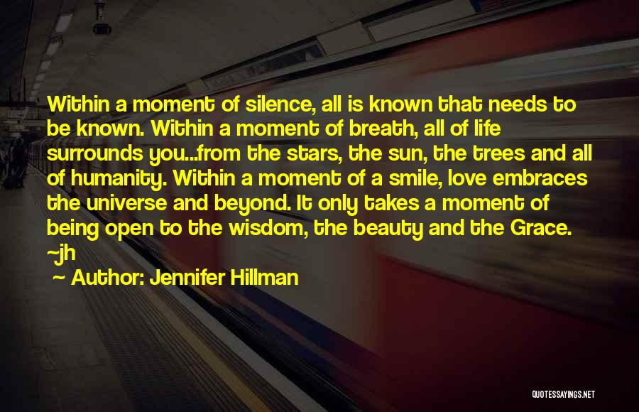 Wisdom And Trees Quotes By Jennifer Hillman
