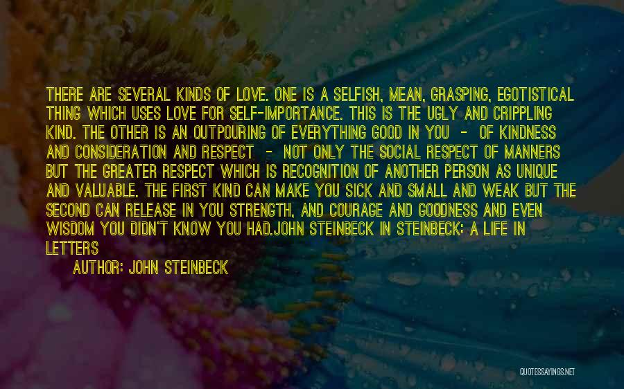 Wisdom Strength And Courage Quotes By John Steinbeck