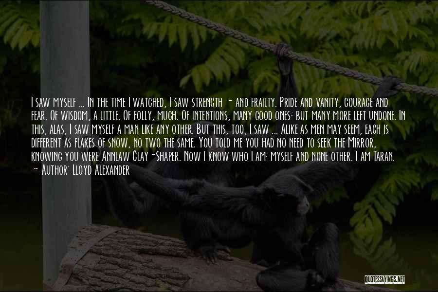 Wisdom Strength And Courage Quotes By Lloyd Alexander